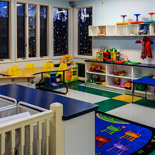 The Learning Center of Westerville Preschool classroom