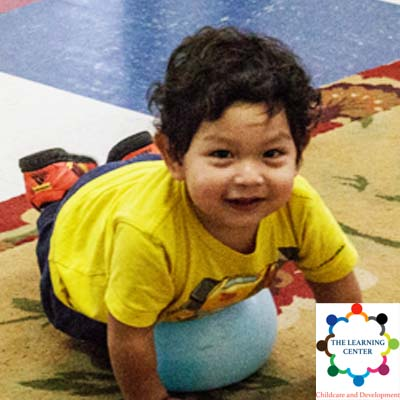 a toddler at The Learning Center Daycare and Preschool in Columbus Ohio